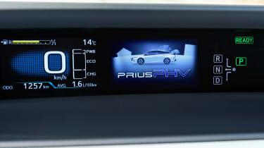 Toyota Prius Plug-In 2017 - instruments