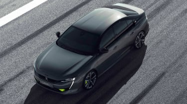 Peugeot 508 Sport Engineered concept - front above