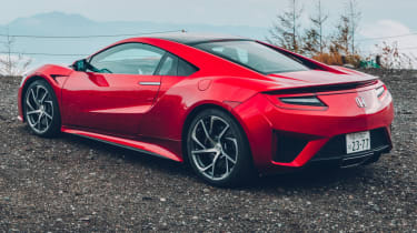 Honda NSX rear quarter