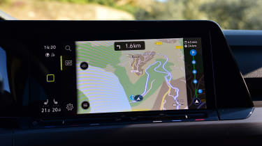 Volkswagen Golf Mk8 - navigation