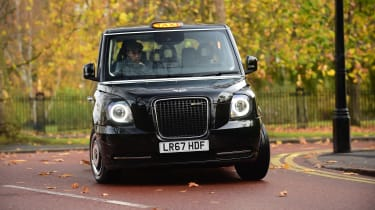 LEVC TX London Taxi - front cornering