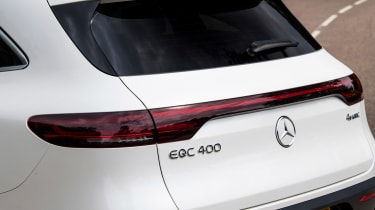 Mercedes EQC - rear detail