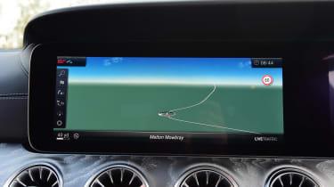 Mercedes CLS - sat-nav