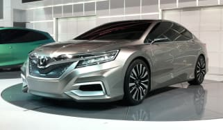 Honda Concept C front three-quarters