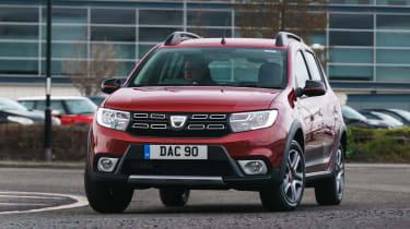 Dacia Sandero Stepway Techroad - front cornering