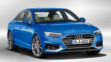 2019 Audi A4 - front (watermarked)