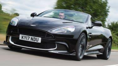 Aston Martin Vanquish S Volante - road