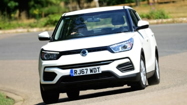 Used SsangYong Tivoli - front cornering