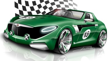 MG Horizon concept sketch - front