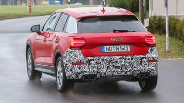 Audi SQ2 - red spied full rear