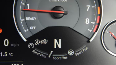 BMW M4 CS - dials