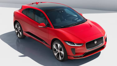 Jaguar I-Pace - front red