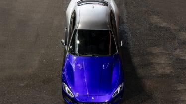 Maserati GranTurismo Zeda - aerial front