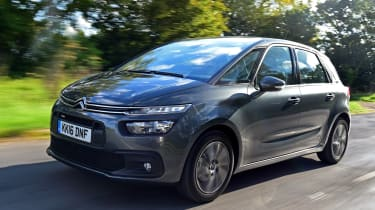 Citroen C4 Picasso Touch Edition - front tracking