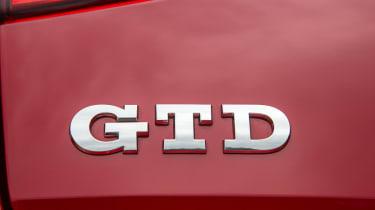 Volkswagen Golf GTD badge