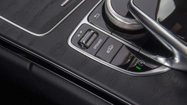 Mercedes C300 Coupe - centre console