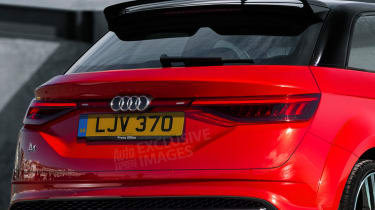 New Audi A1 rear exclusive render detail