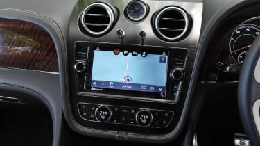 Bentley Bentayga V8 - Navigation