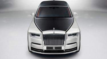 Rolls-Royce Phantom - above