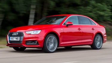 Used Audi A4 Mk5 - front action
