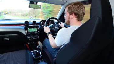 Suzuki swift sport ctc interior