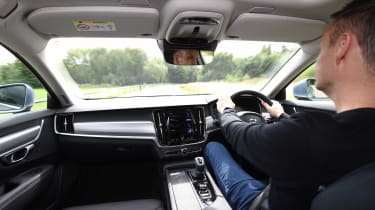 Volvo S90 long term test first report - Graham Hope driving