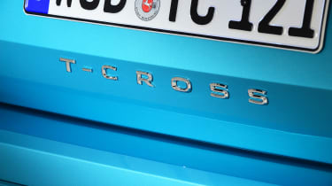 Volkswagen T-Cross - rear badge