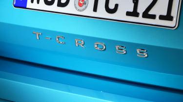 Volkswagen T-Cross - rear badge