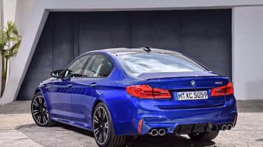 BMW M5 leaked - rear static