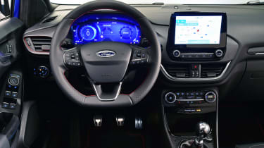 Ford Puma - studio interior