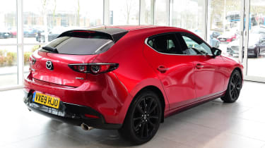 Mazda 3 Skyactiv-X long termer - first report rear