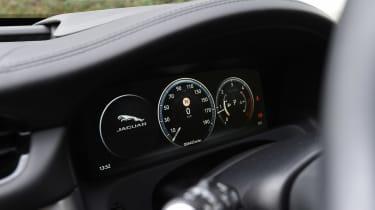 Jaguar XF long term - second report dials