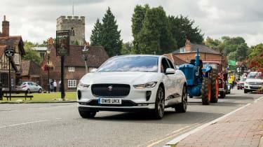 Jaguar I-Pace long termer - second report - village fete parade