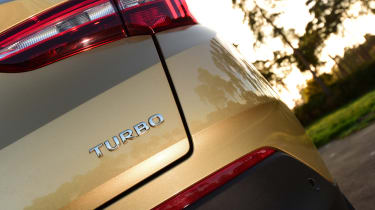 Vauxhall Grandland X - Turbo badge