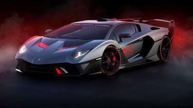 Lamborghini SC18 - front static