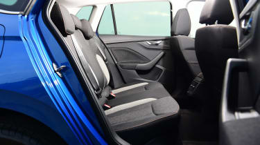 Skoda Kamiq - rear seats