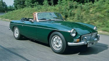 MGB - front