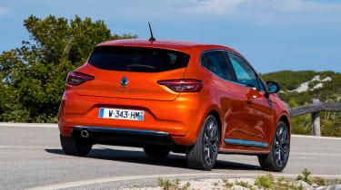 Renault Clio - rear action