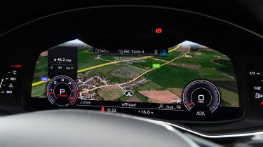 Audi A6 Allroad - dials
