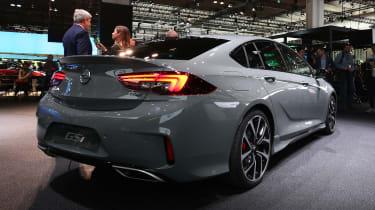 Frankfurt - Vauxhall Insignia GSi - rear quarter