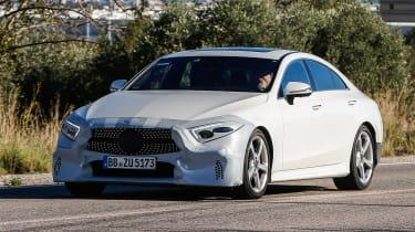 Mercedes CLS Catalonia front quarter
