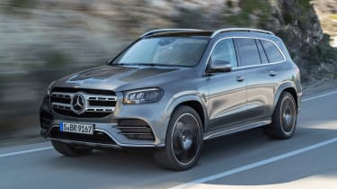 Mercedes GLS - grey front tracking