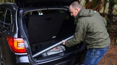 Long-term test review: Subaru Outback boot parcel shelf