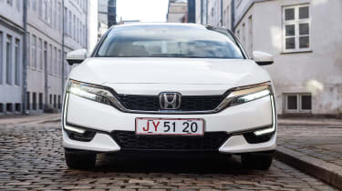 Honda Clarity - full front