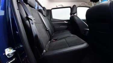 Mercedes X-Class - rear seats