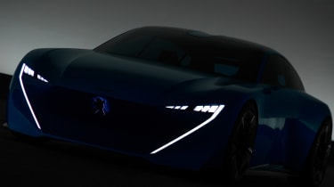 Peugeot Instinct concept - car dark