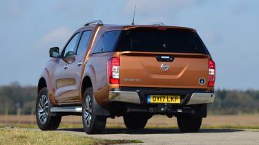 Nissan Navara - rear