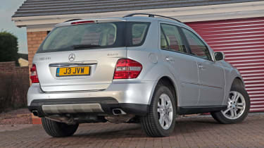 Used Mercedes M-Class - rear