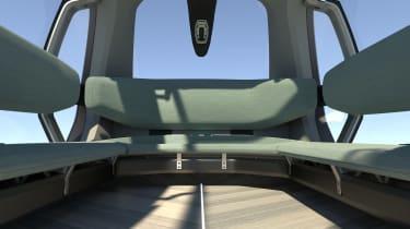 Renault EZ-GO concept - seats