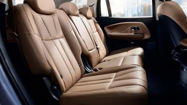 Nio ES8 - rear seats